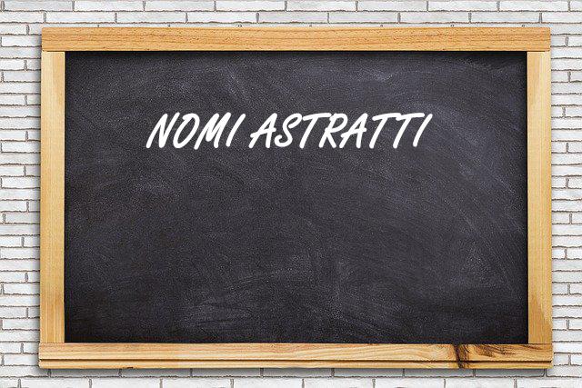 nomi astratti