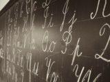 lettere in corsivo