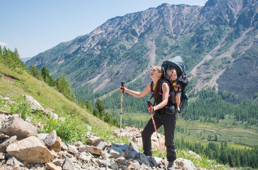 I neonati possono andare in montagna?