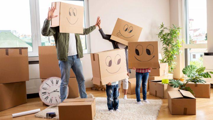 Trasloco con bambini piccoli in casa