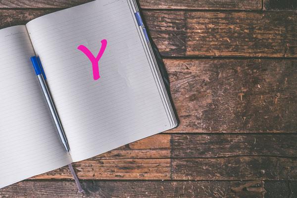Nomi femminili che iniziano con la Y