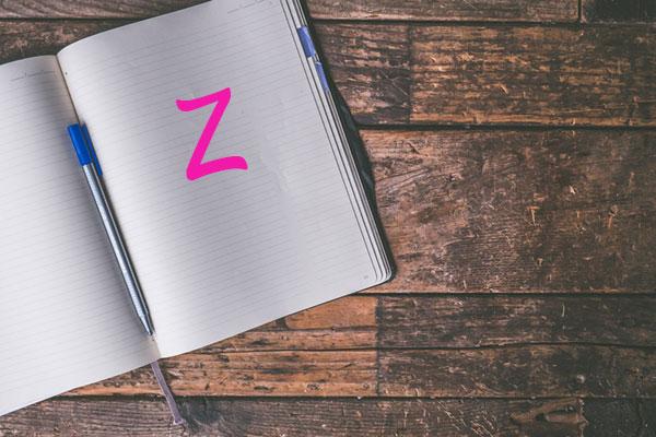 Nomi femminili che iniziano con la Z