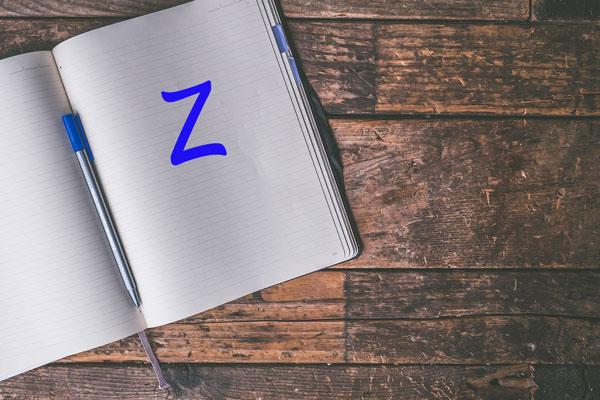 Nomi maschili che iniziano con la Z