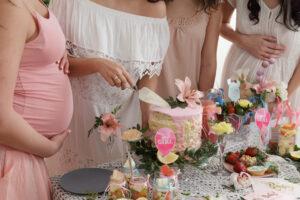 La storia del baby shower